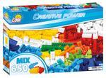 Cobi 650 Pcs Creative Power 20651 Mix