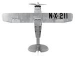 Cobi 210 Pcs Smithsonian 21074 Plane Spirit Of St. Louis