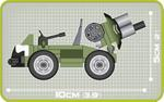 Cobi 60 Pcs Small Army 2152 Battalion Support Vehicle