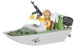 Cobi 60 Pcs Small Army 2154 Shark Patrol Boat