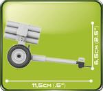 Cobi 100 Pcs Small Army 2182 Nebelwerfer