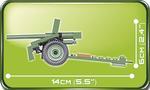 Cobi 80 Pcs Small Army 2184 37 Mm Wz.36 Bofors
