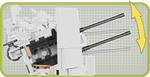 Cobi 140 Pcs Small Army 2186 2Cm Flakvierling 38
