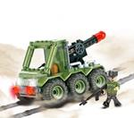 Cobi 100 Pcs Small Army 2196 G21 6X2 Missile Launcher