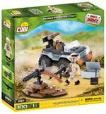 Cobi 100 Pcs Small Army 2197 Mobile Firing Position