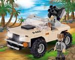 Cobi 100 Pcs Small Army 2199 Desert Artillery Vehicle