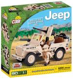 Cobi 90 Pcs Jeep 24093 Willys Mb North Africa 1943