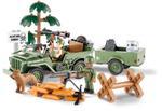 Cobi 190 Pcs Jeep 24192 Willys Mb&14 Ton Cargo Trailer