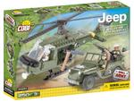 Cobi 250 Pcs Jeep 24254 Willys Mb With Helicopter