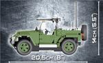 Cobi 250 Pcs Jeep 24260 Wrangler Military