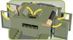 Cobi 255 Pcs Small Army 24304 Us & Nato Vehicles Jungle