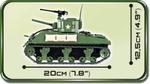 Cobi 400 Pcs Small Army 2464 Sherman M4A1