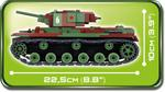 Cobi 470 Pcs Small Army 2489 Kv-1