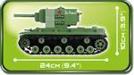 Cobi 510 Pcs Small Army 2490 Kv-2