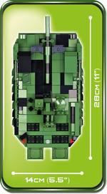 Cobi 600 Pcs Small Army 2498 Stridsvagn 103C
