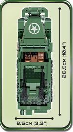 Cobi 500 Pcs Small Army 2499 M16 Half-Truck