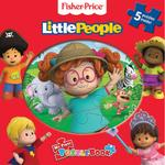 Fisher Price Little People My First Puzzle Book
