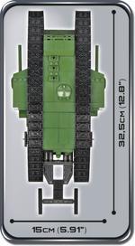 Cobi 600 Pcs Small Army 2972 Tank Mark I