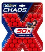 X-SHOT Chaos 50 Dart Balls Refill