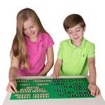 Sb Alphabriks� & Mathbriks� Combo -200 Briks + 10 X 10 Stackable Baseplate