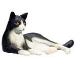 Mojo Cat Lying Black And White New For 2019