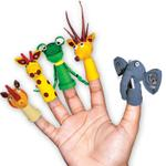 Toy Kraft Paper Quilling - Pencil Tops & Finger Puppets