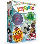 Toy Kraft Paper Quilling - Key Rings