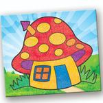 Toy Kraft Sand Art Pictures - Fantasy Homes