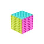 Sb Mini Cube -Magenta Tarquoise Lime Green Oranational Geographice