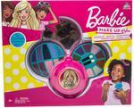 Barbie 3 Decks Round Cosmetic Case