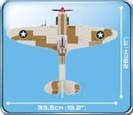 Cobi 500 Pcs Small Army 5546 Supermarine Spitfire - Maintenance Hangar