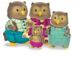 Li'L Woodzeez Owl Family