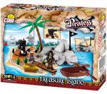 Cobi 160 Pcs Pirates 6013 Treasure Island