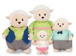 Li'L Woodzeez Sheep Family