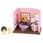 Li'L Woodzeez Hair Salon Small Playset