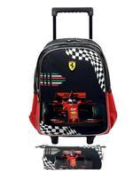 "Ferrari To Be 1st Trolley Bag + Pencil Case 16"""
