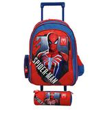 Spiderman Stand By Me 18'' Trolley  + Pencil Case