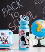 Mickey Football Water Bottle Stainless Steel
