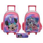 Minnie Believe In Love  Trolley 18''  + Pencil Case