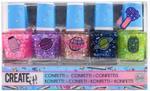 Create It! Galaxy Nail Polish Confetti 5-Pack