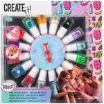 Create It! Nail Polish + Spinning Wheel 16 Bottles
