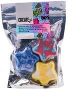 Create It! Bath Bomb Star 3-Pack Display