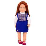 Our Generation Doll With Tweed Dress Lenaya
