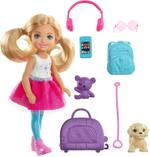 Barbie Chelsea Travel Doll And Accessories