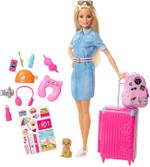 Barbie Doll And Accessories - Travel Doll