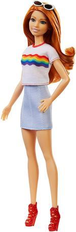 Barbie Fashionistas Doll - Rainbow Shirt