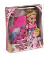 Grandi Giochi Cinderella 15cm with Pony
