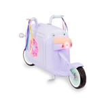 Glitter Girls Donut Delivery Scooter