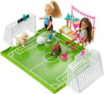 Barbie Chelsea Soccer Doll Playset