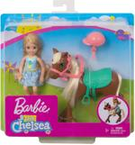 Barbie Club Chelsea Doll+Pony